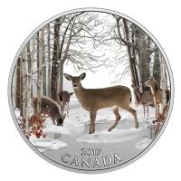 Kanada - 10 CAD Frühlingserwachen 2017 - Silbermünze
